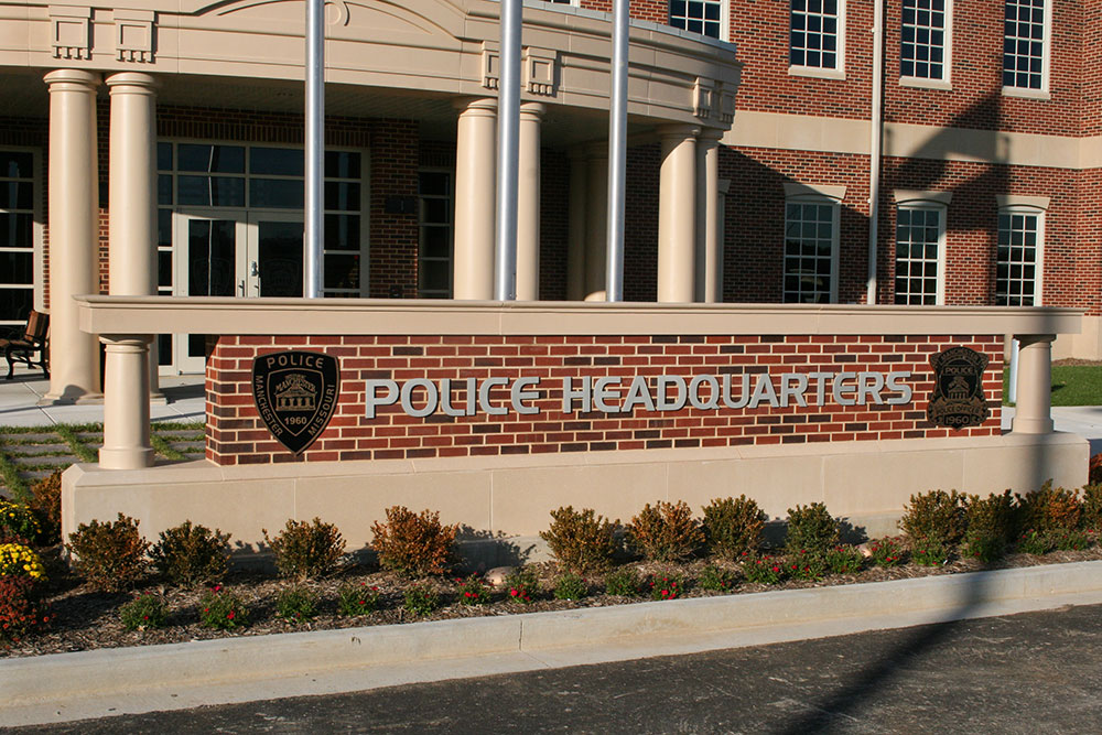 ©Midwest Cast Stone. Manchester Police